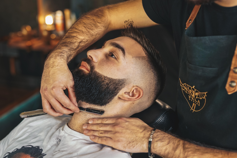 Beard trim & style.