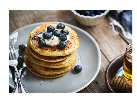 Getreide- und milchfreie  Pancakes
