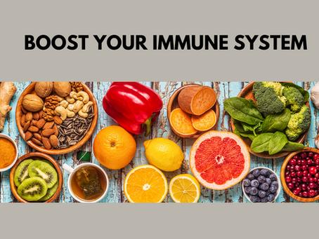 Ein starkes Immunsystem mit der richtigen Ernährung- gerade jetzt!