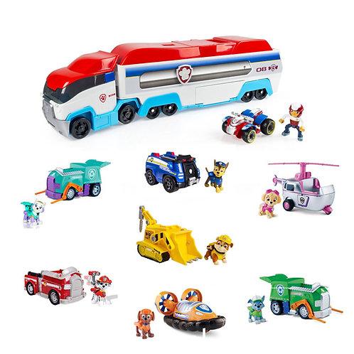 Большой автовоз и Райдер + 7 щенков с машинками серии «Премиум»