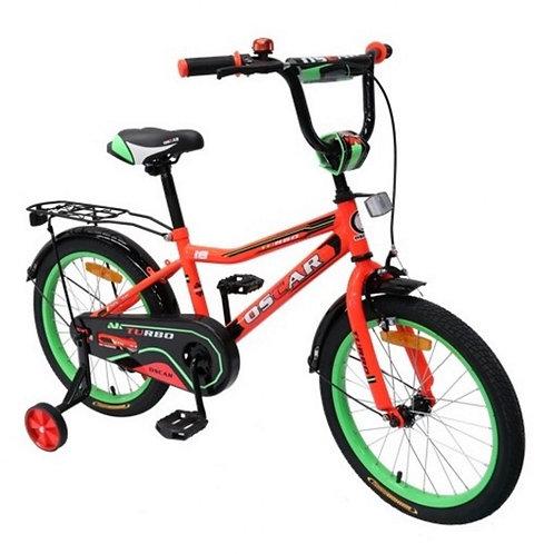 Велосипед детский 18 дюймов Oscar Turbo