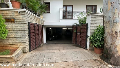 LMARKS AUTOMATION | AUTOMATIC SWING GATE
