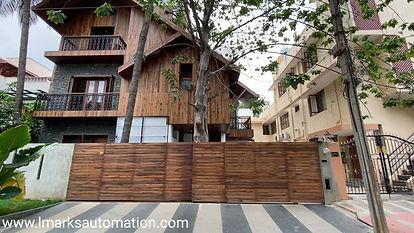 LMARKS AUTOMATION | SLIDING AUTOMATIC GATE