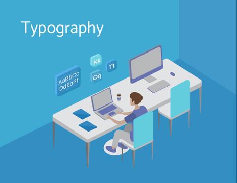 Process Video - Typography