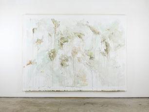 o.T. | 215 cm x 315 cm | Tempera auf Leinwand | 2019