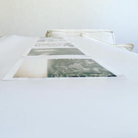 Bildauswahl im Atelier