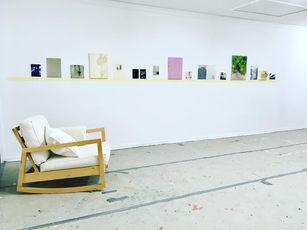 Ausstellungsansicht #Ein Sonntag im Atelier 2019