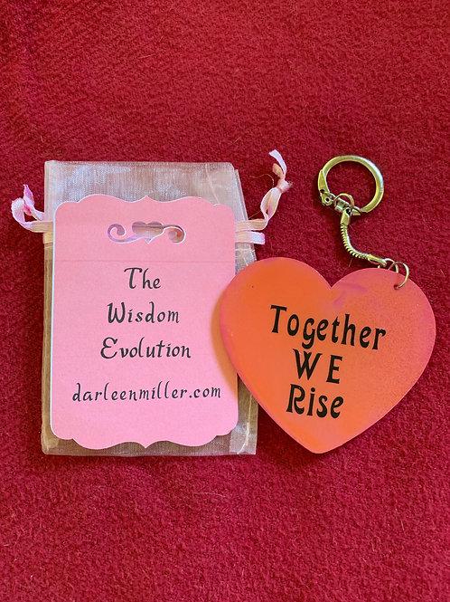 Wisdom Evolution Keychain