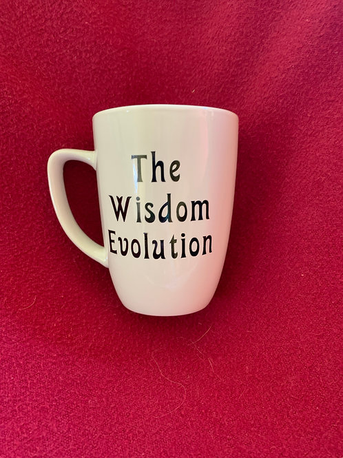 Wisdom Evolution Coffee Mug