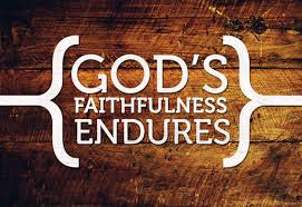 Do my Circumstances Dictate God's Faithfulness in my Life?