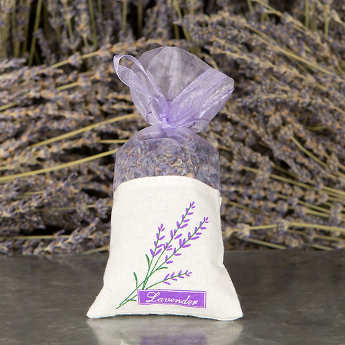 Lavender Buds Sachet Bag - .8oz.