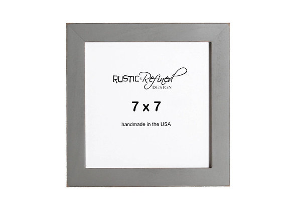 """7x7 1"""" Gallery Picture Frame - Grey Green"""
