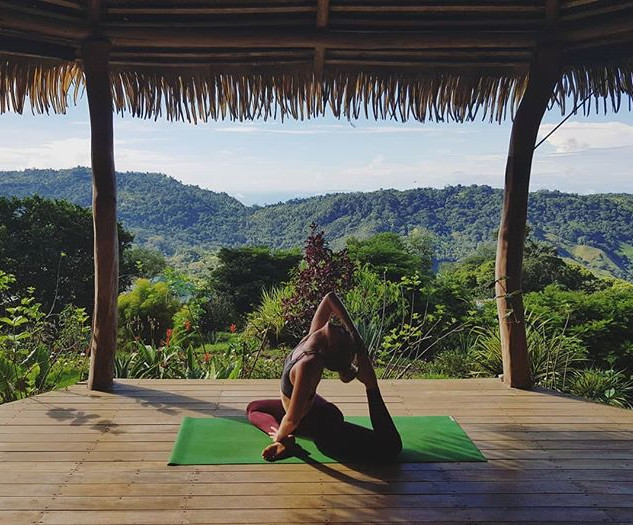 """Yoga is a dance between control and sur"