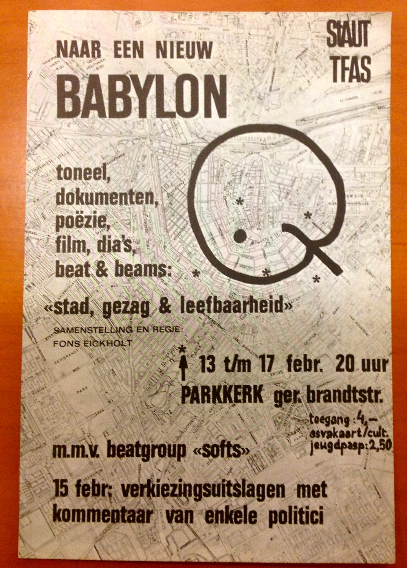 """Naar in New Babylon"" poster"