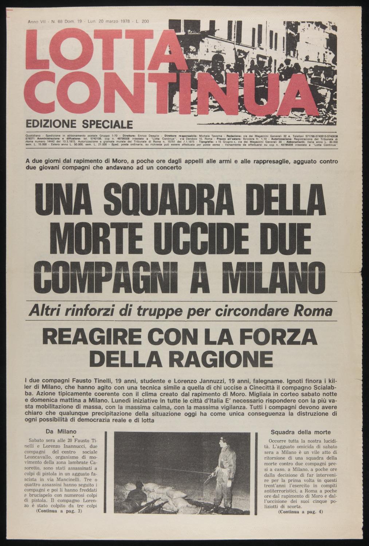 Lotta Continua, March 19-20, 1978