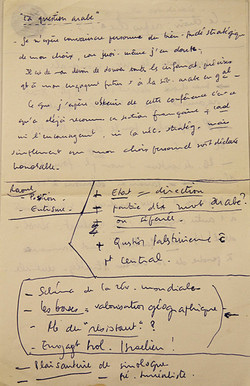 Notes Khayati, 09/1969