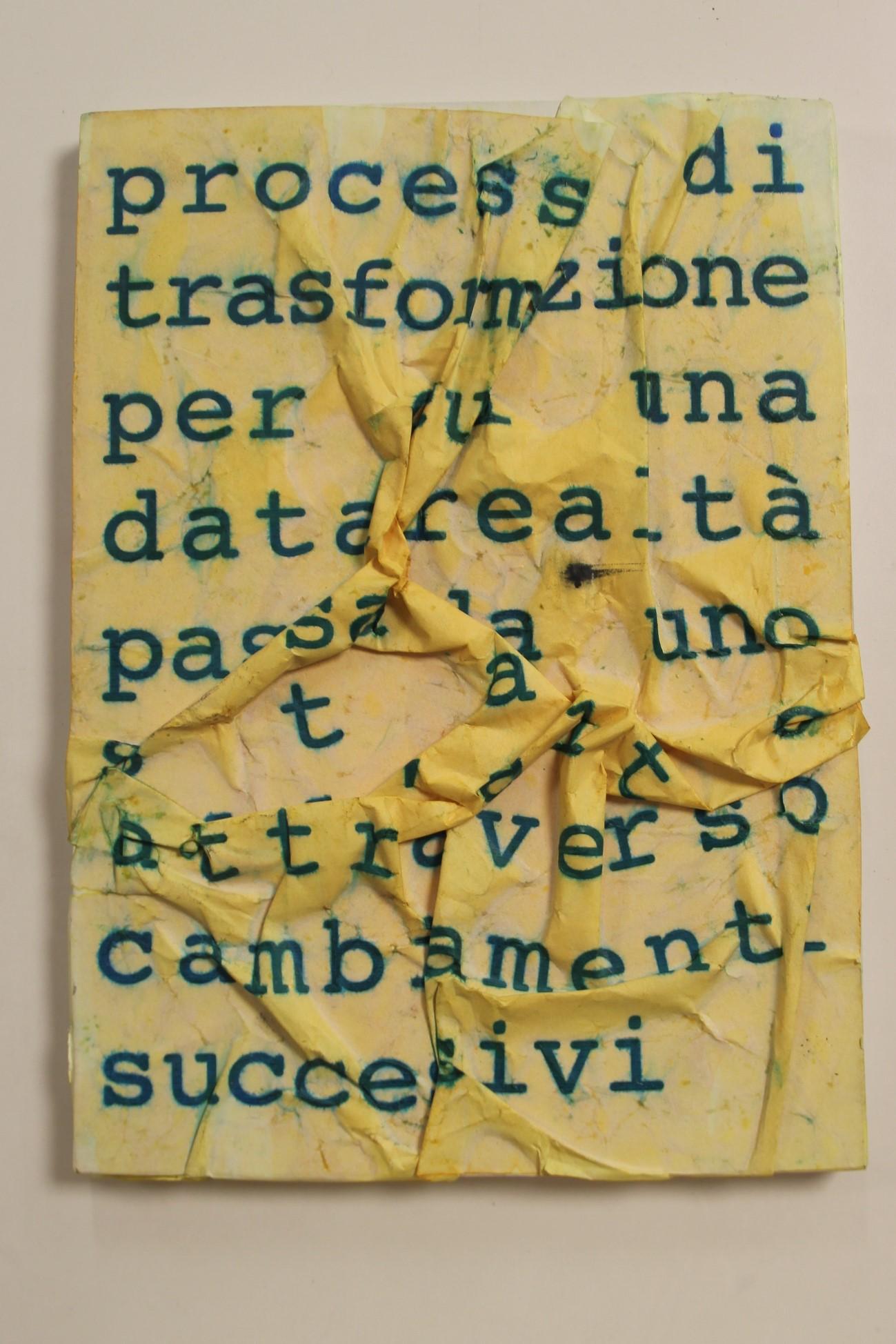 Processi di trasformazione ..., 2001