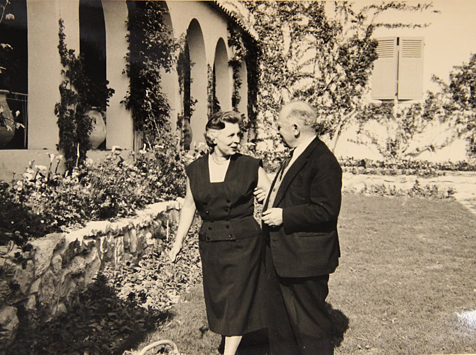 Charles Labaste and Paulette (Cannes