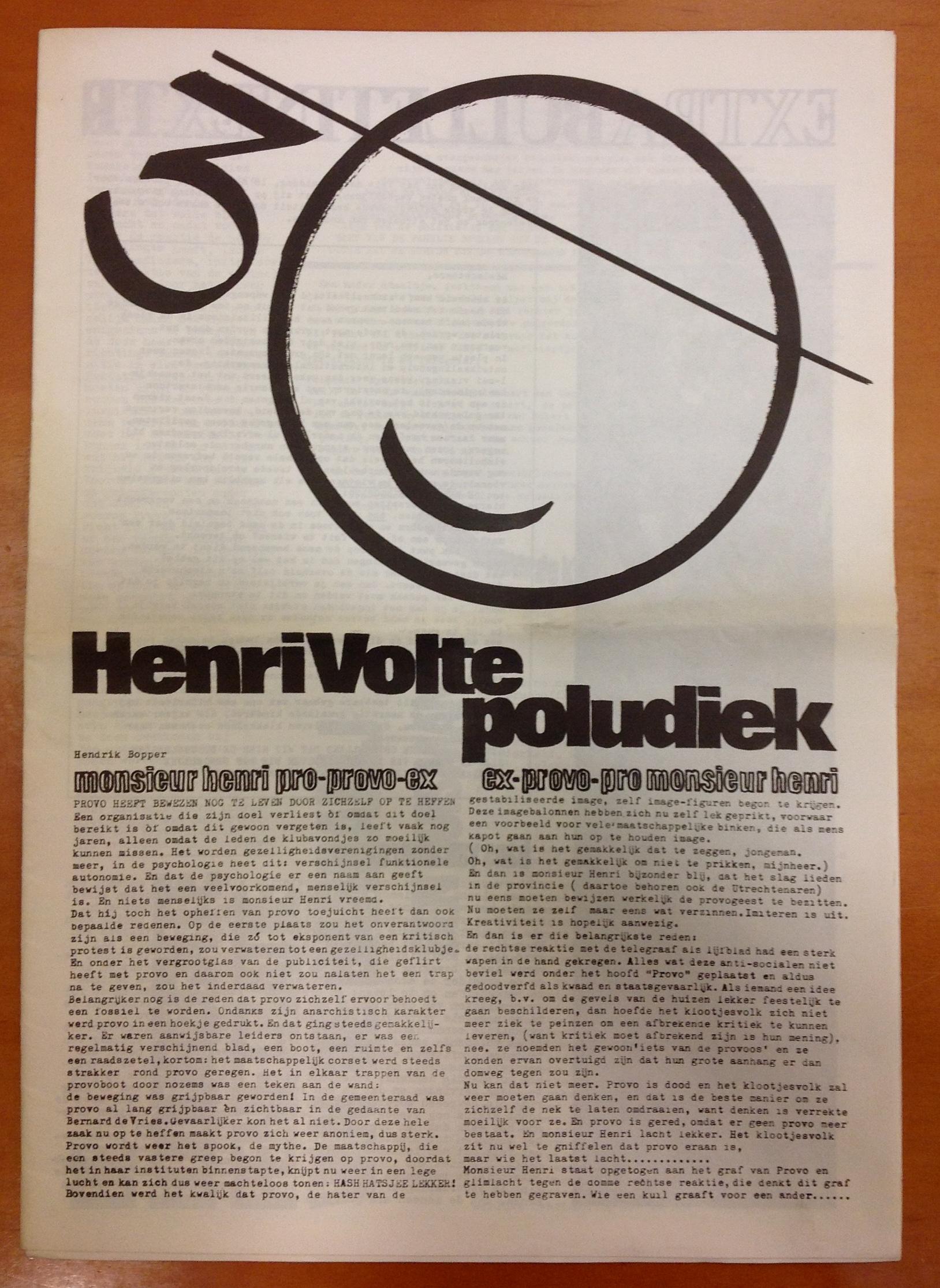 """""""HenriVolte poludiek"""""""