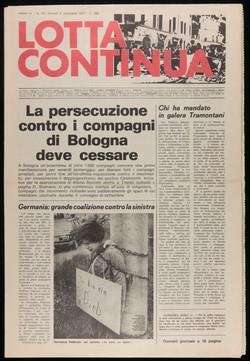 Lotta Continua, September 8, 1977