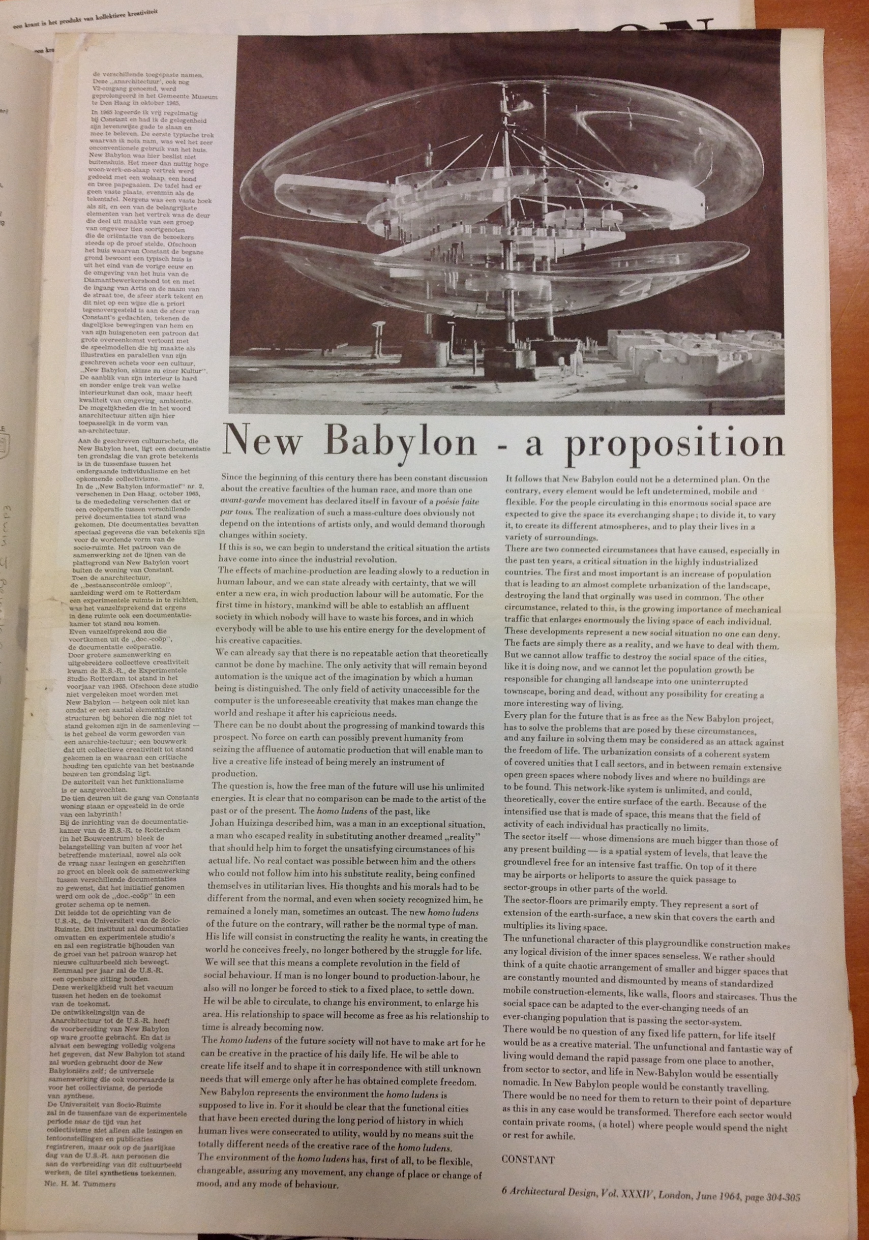 New Babylon informatief