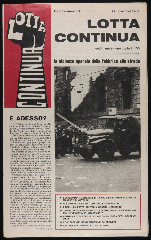 Lotta Continua, November 22, 1969