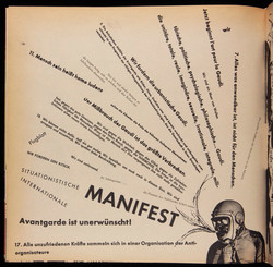 Manifesto in SPUR (1962)