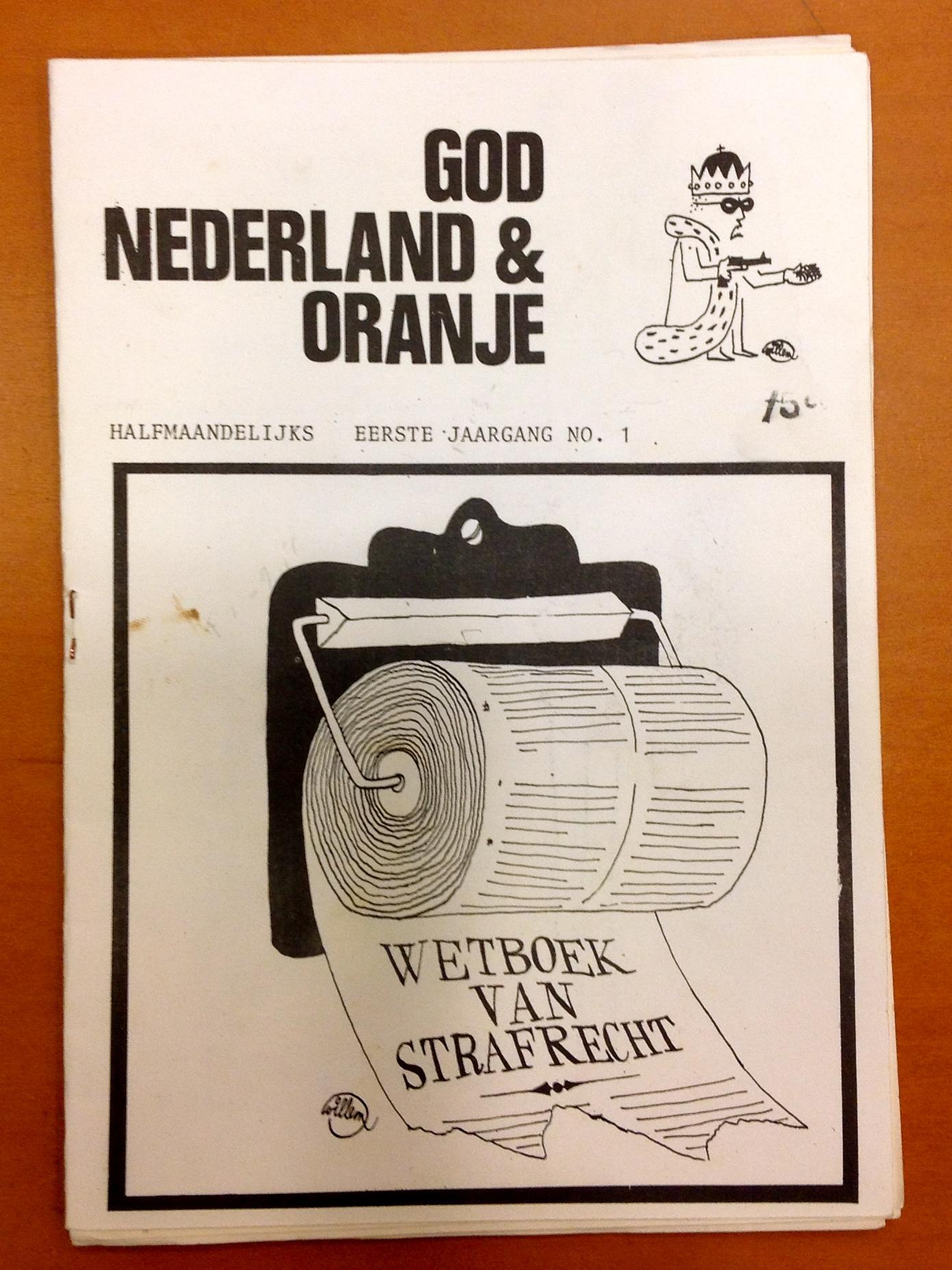 God, Nederland & Oranje 1