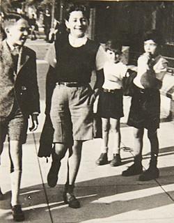 Guy Debord leaving school