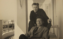 Guy Debord and his mother