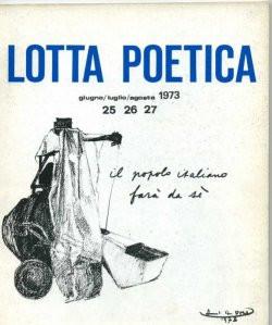 Lotta Poetica 25/26/27