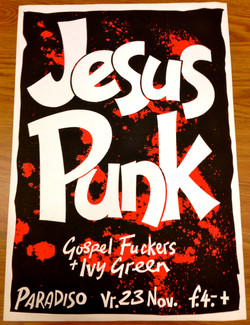 Jesus Punk/Gospel Fuckers poster
