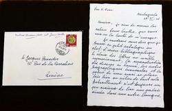 Letter from Ninon Hesse, 1962