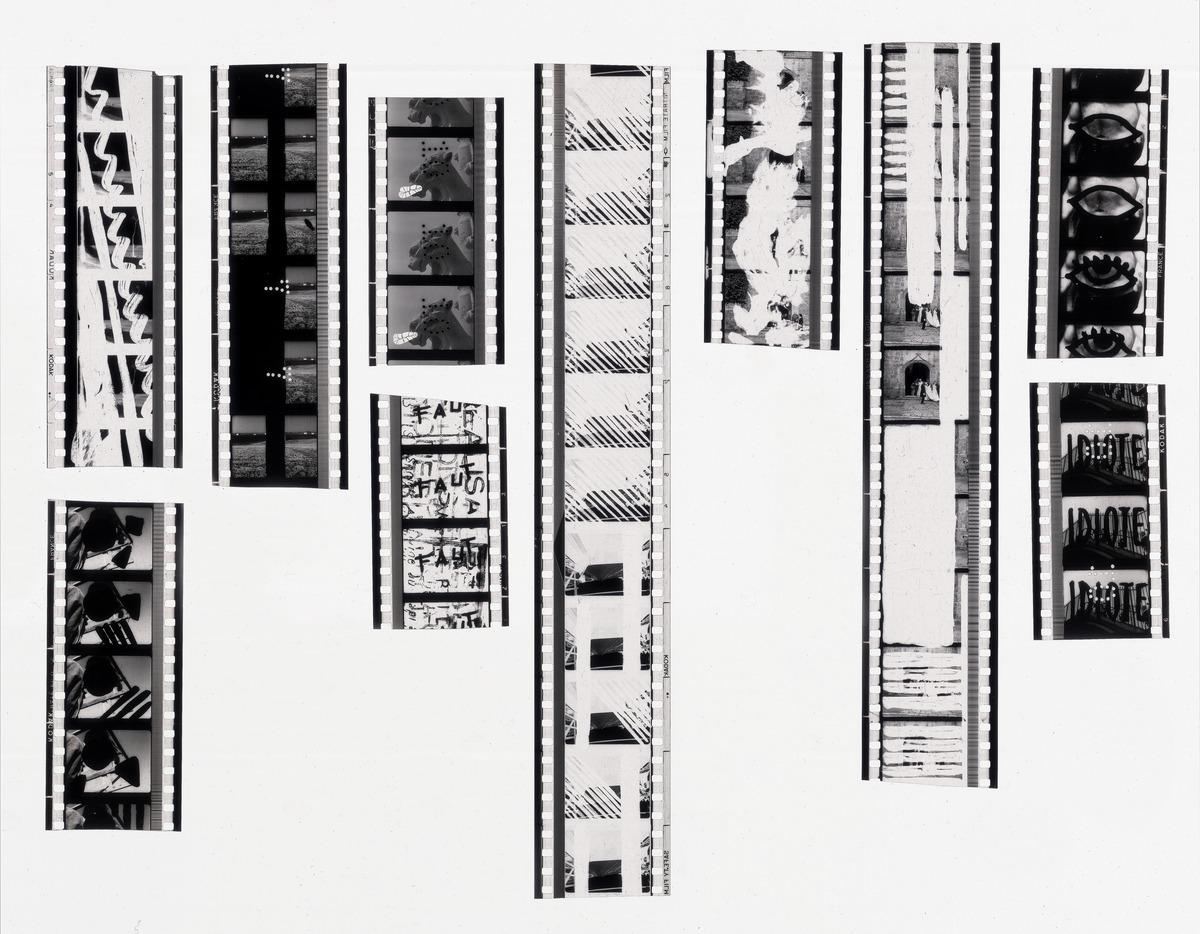 Negatives, production stills, 1971