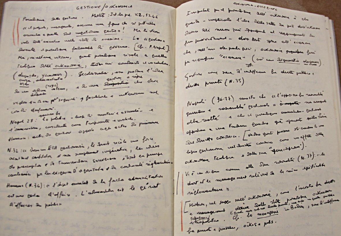 Notebook Homo Sacer II1