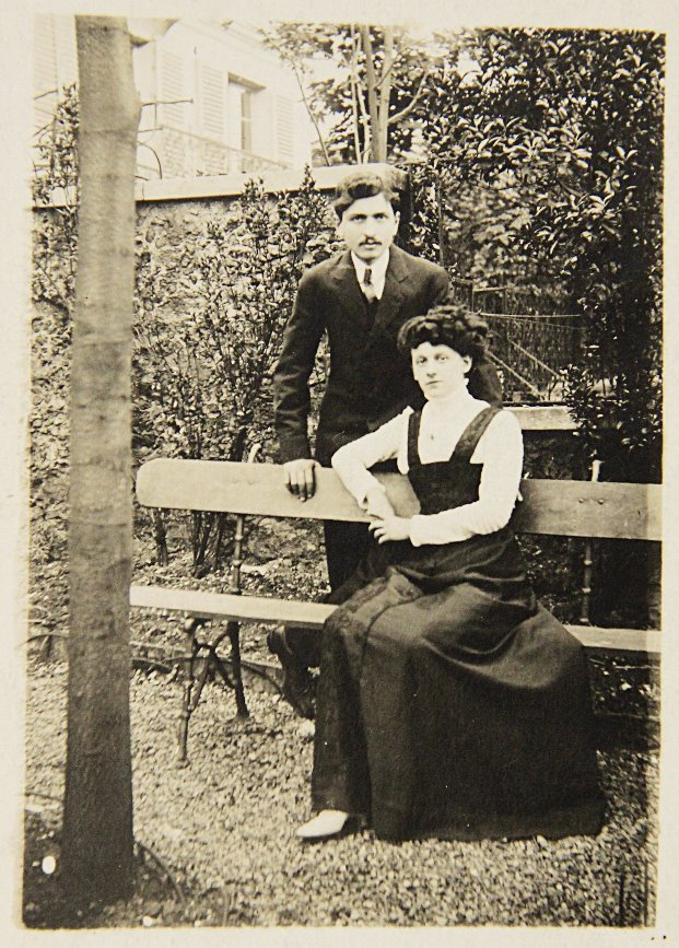 G. Debord's father Martial & sister