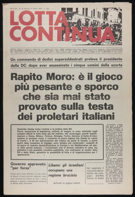 Lotta Continua, March 17, 1978