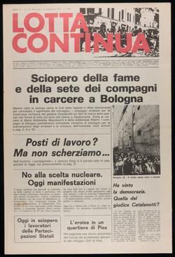 Lotta Continua, September 28, 1977