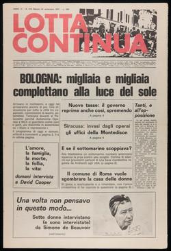 Lotta Continua, September 24, 1977