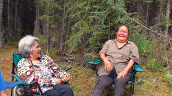 Elders sharing a laugh