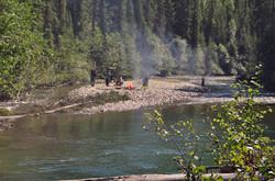Visiting Paul River