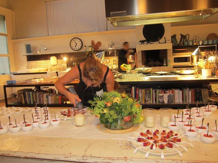 Preparando il buffet