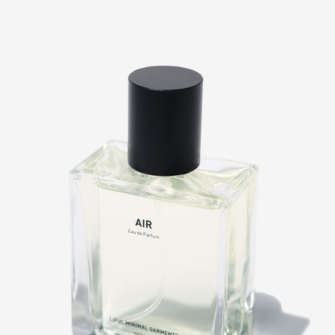 'AIR' EAU DE PARFUM BY LIFUL MINIMAL GARMENTS.