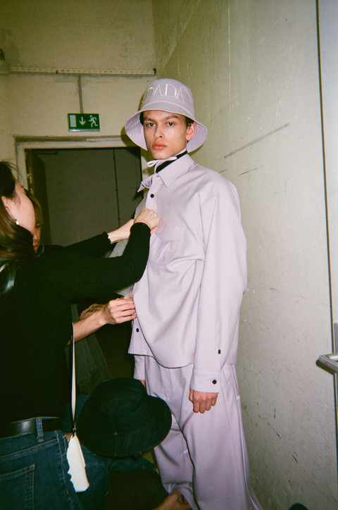 CHRISTIAN DADA AW19 - BACKSTAGE