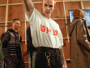 PRIVATE POLICY BY GQ CHINA AW19 - BACKSTAGE