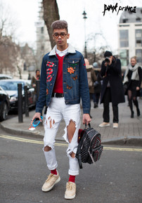LFW Men's DAY 1 Streetstyle