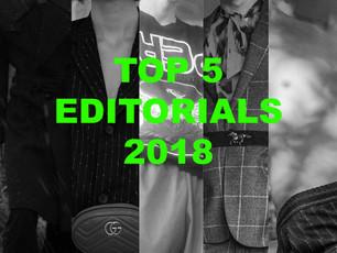 TOP 5 MOST VIEWS EDITORIALS 2018