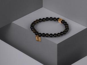 Northskull beaded bracelets enriched with sterling silver elements