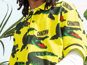 LACOSTE TEAMS UP WITH CHINATOWN MARKET