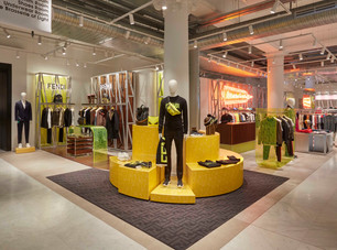FENDI OPENS MENS CONCEPT STORE IN SELFRIDGES LONDON